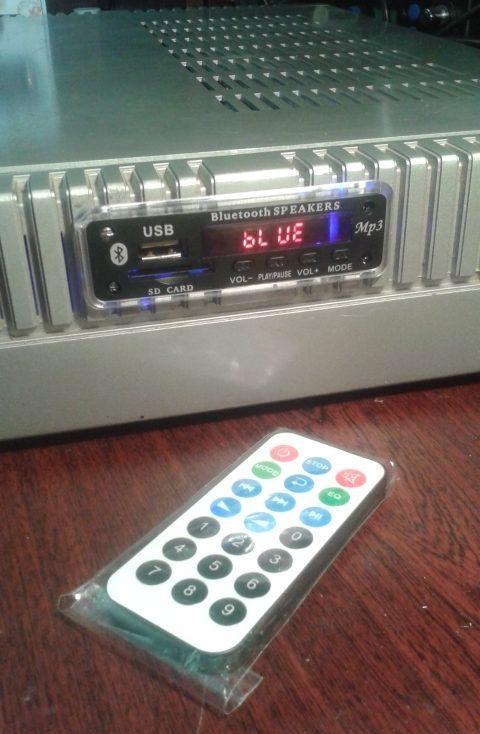 Установка MP3, FM, Bluetooth модуля в усилитель