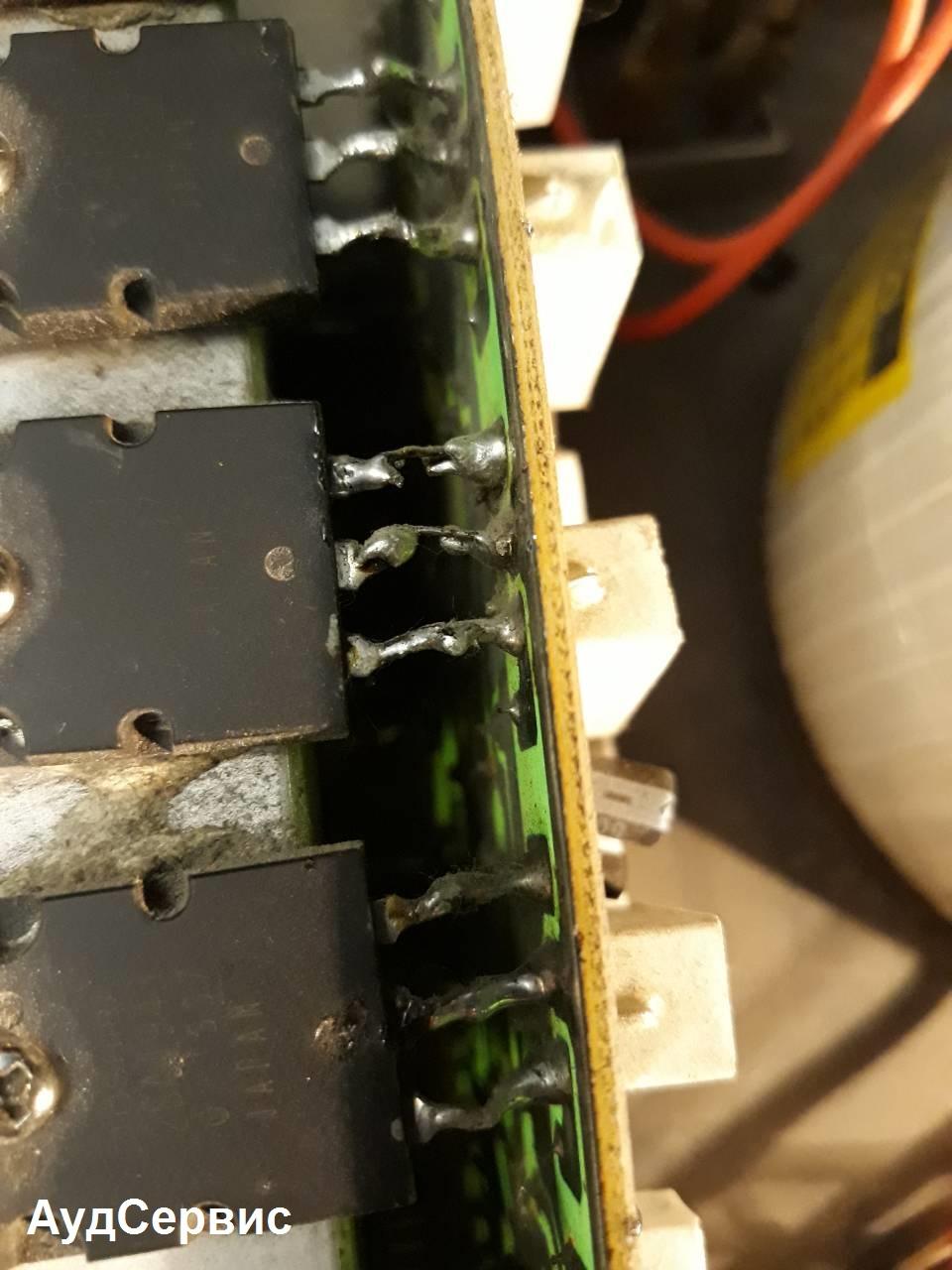 Ремонт усилителя California Electronics pro-468A