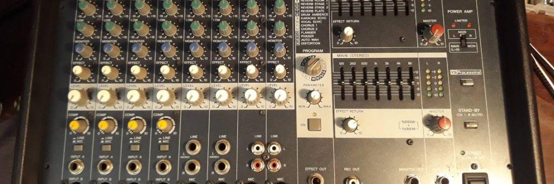 Ремонт микшерного пульта YAMAHA EMX512SC