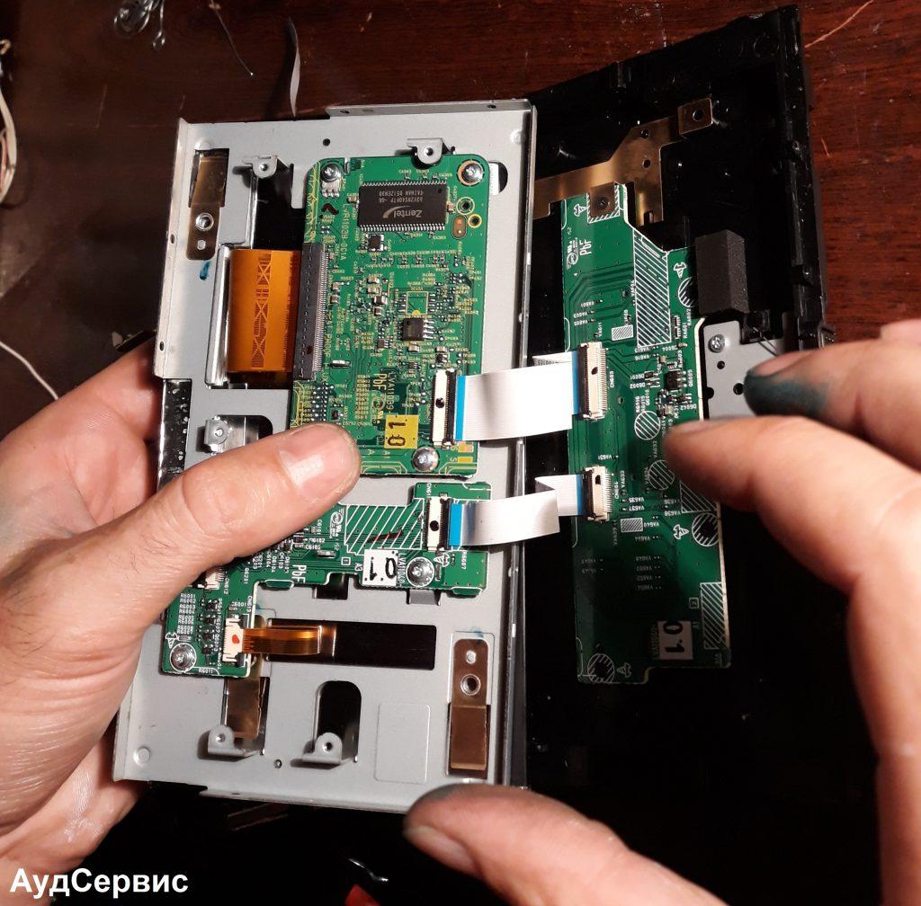 Ремонт магнитолы JVC KW-AVX840