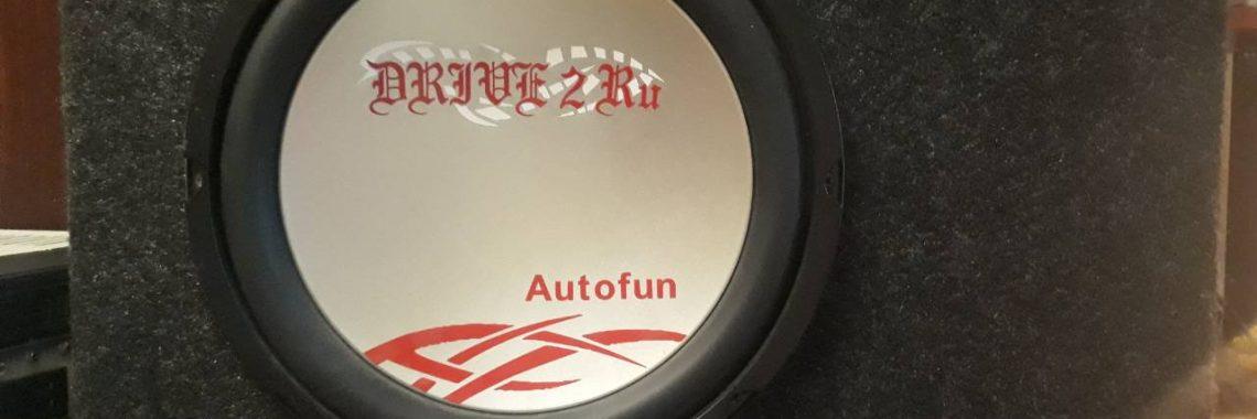 Ремонт автомобильного сабвуфера Autofun
