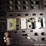 Ремонт микшера Pioneer DJM-600