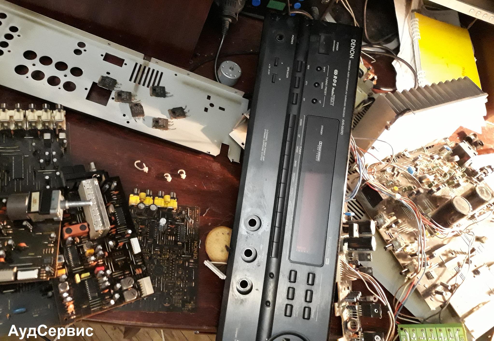 Ремонт усилителя Denon AVR-950RD