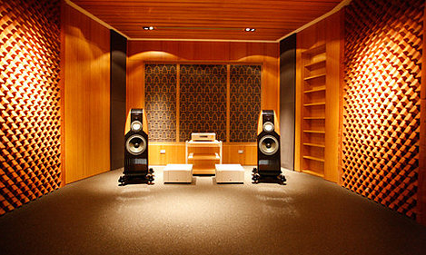 Помещение для прослушивания музыки