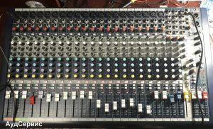 Ремонт микшерного пульта Soundcraft MFXi 20