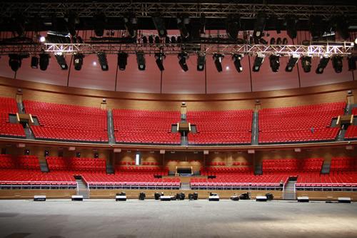 Настройка акустических систем для концертного зала