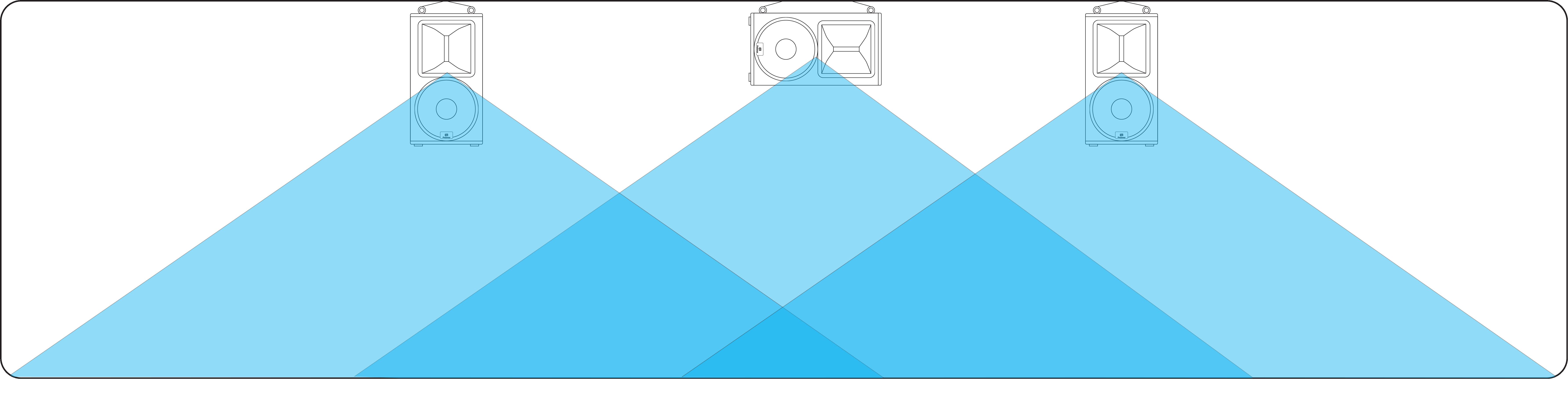 Вертикальное и горизонтальное размещение акустики