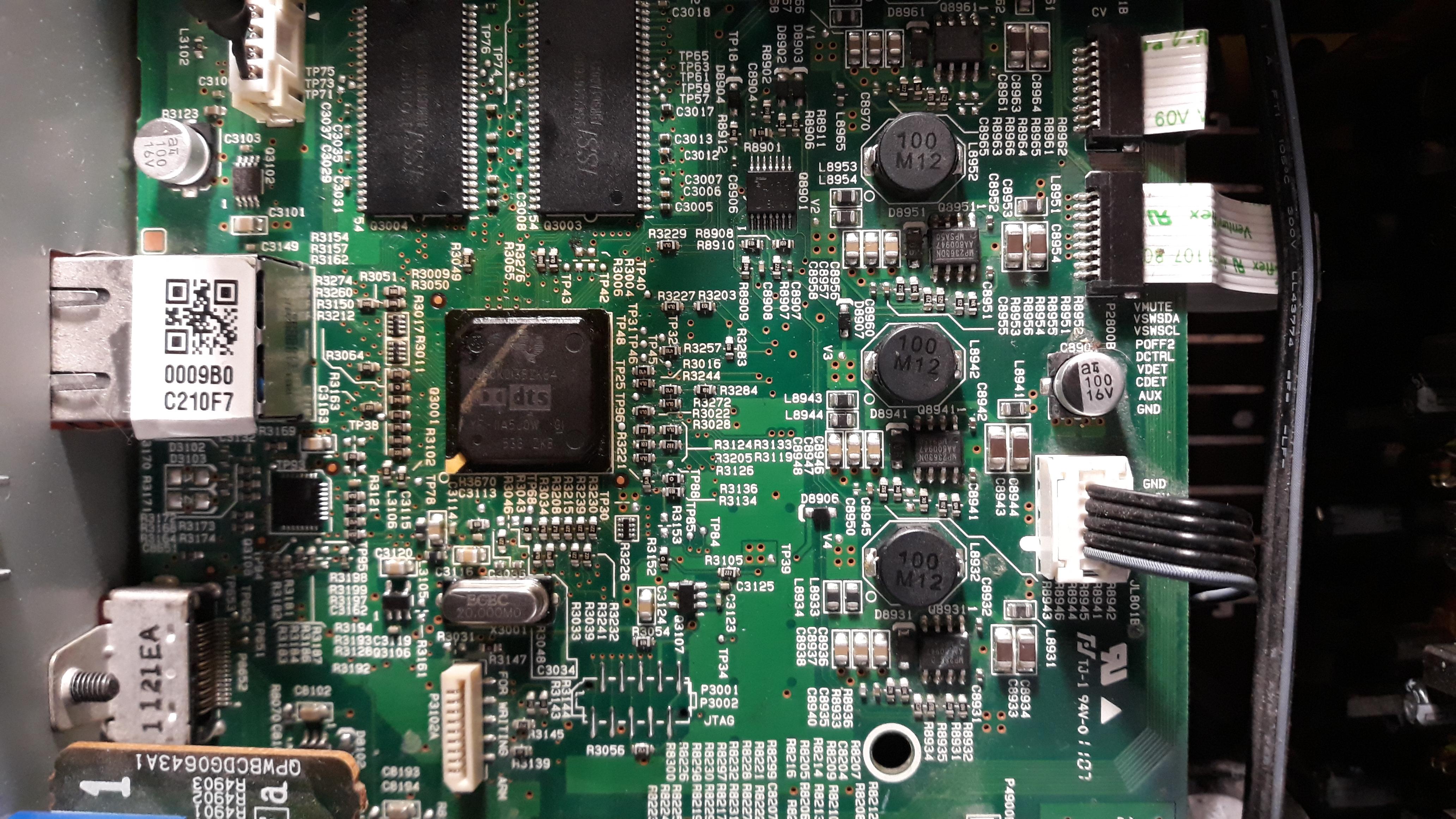 Ремонт AV-ресивера Onkyo TX-NR609