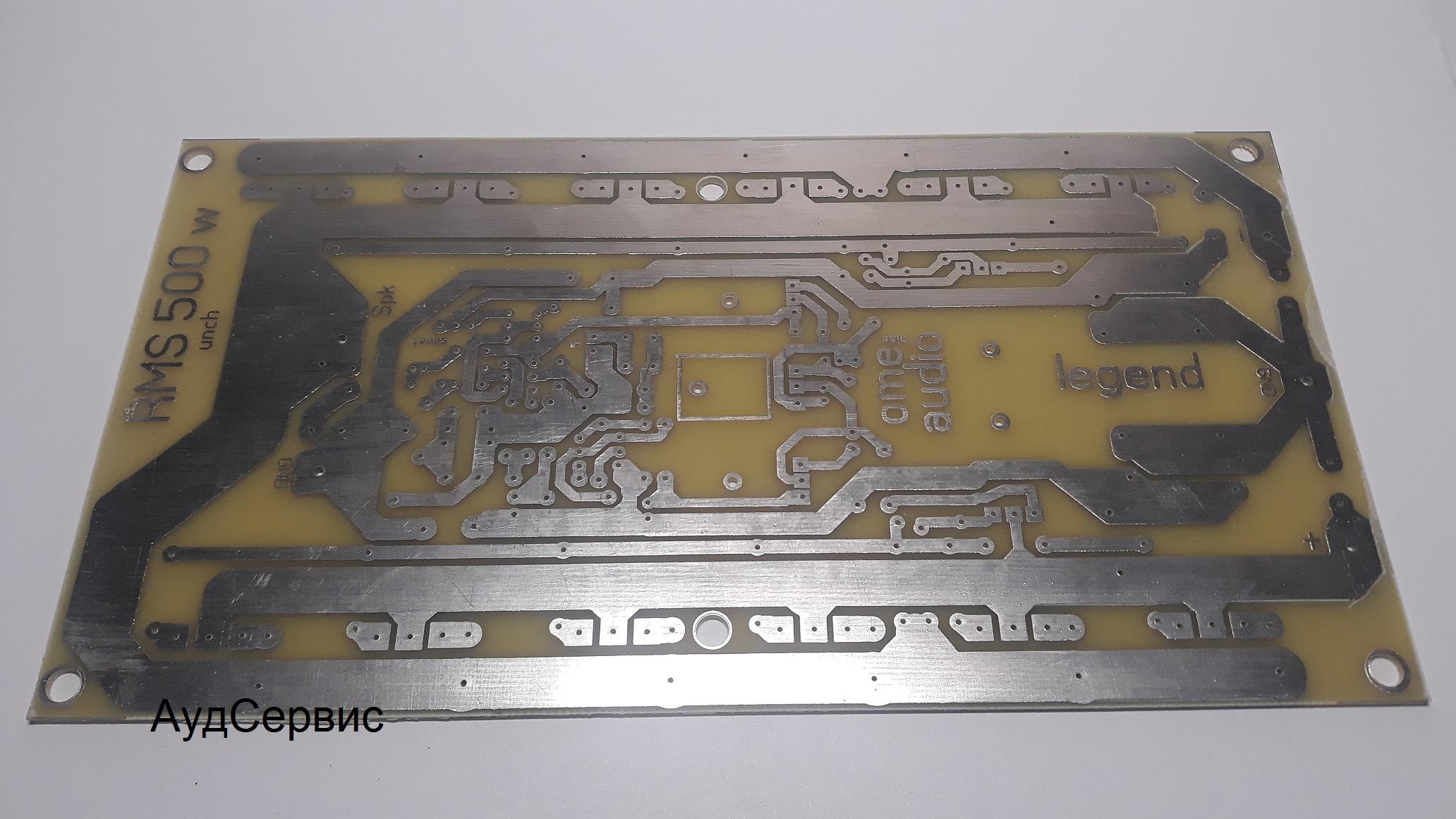 Купить плату - усилитель мощности 500 Вт на полевых транзисторах