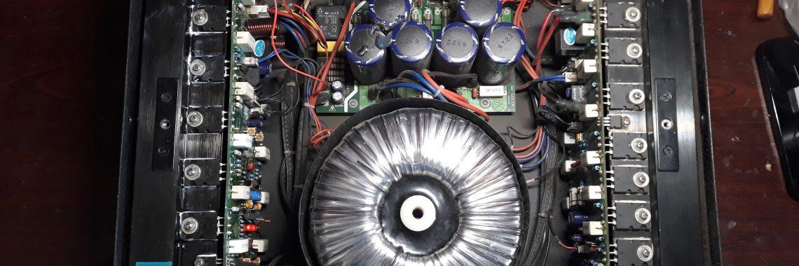 Ремонт усилителя MX3200 AUDIOCENTER