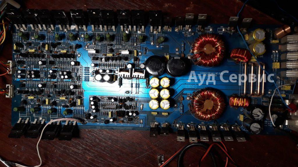 Ремонт автомобильного усилителя SoundStream LW 5.830