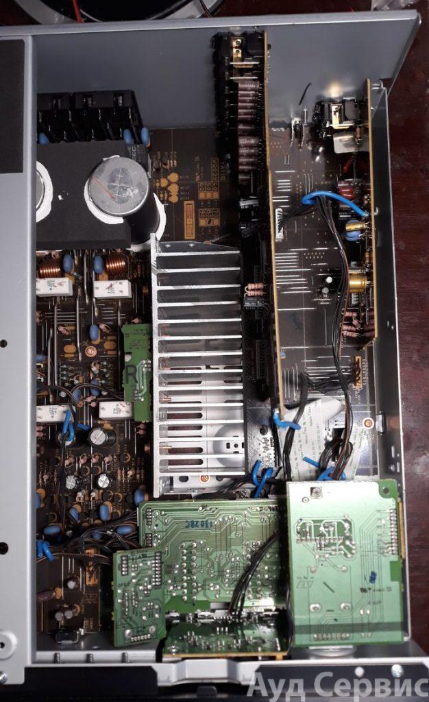 Ремонт усилителя Yamaha A-S700