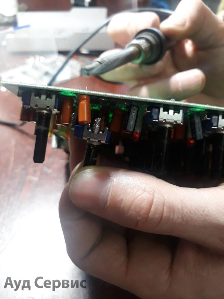 Ремонт аппаратуры для детского дома