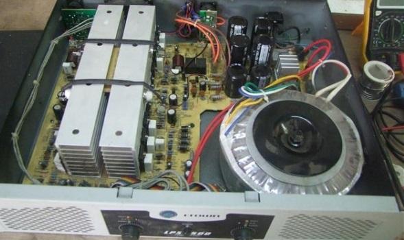 Ремонт усилителя Crown LPS 2500