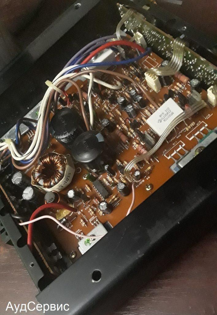 Ремонт автомобильного усилителя Maxound Intersonic MX215