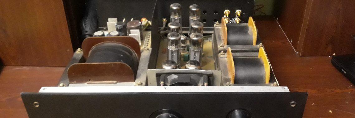 Ремонт авторского лампового усилителя